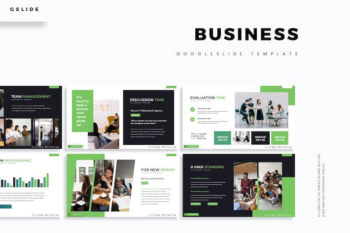 Thumbnail for Business - Google Slides Template