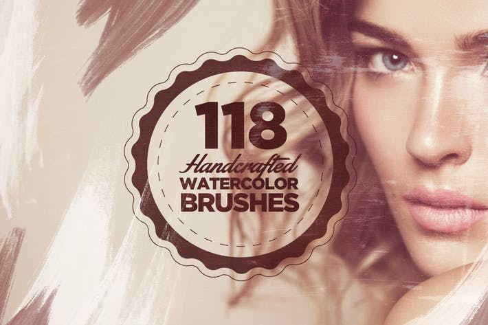 Cover Image For 118 Handcrafted Watercolor Brushes
