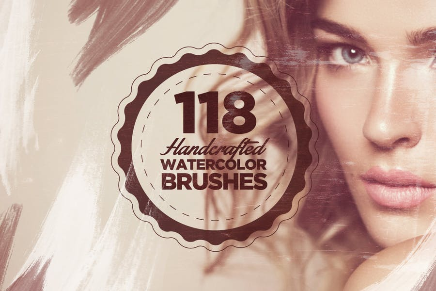 118 Handcrafted Watercolor Brushes