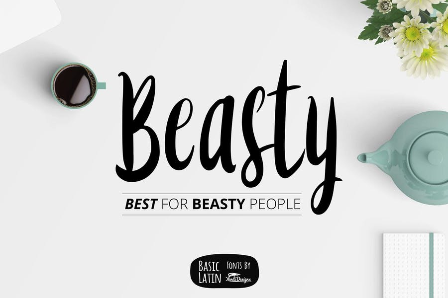 Beasty Fonts