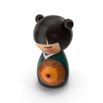 Mini Doll Geisha