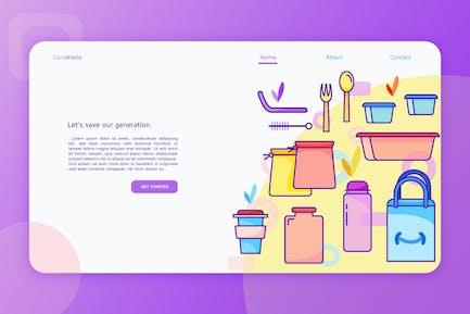 Zero Waste - Landing Page