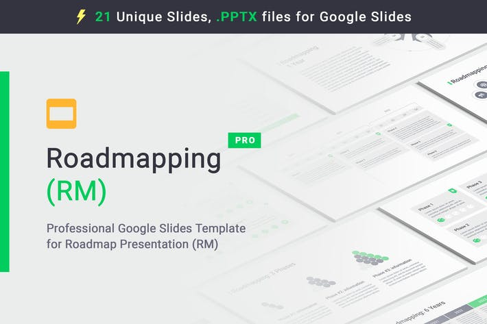 Cover Image For Roadmapping for Google Slides