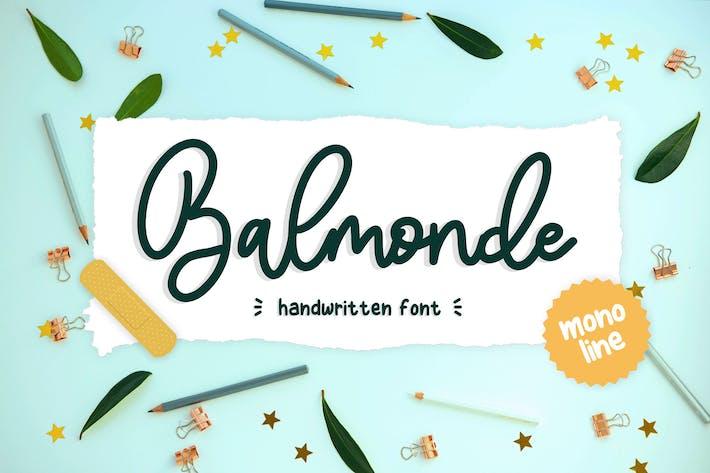 Thumbnail for Balmonde YH - Monoline Font