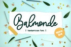 Balmonde YH - Monoline Font