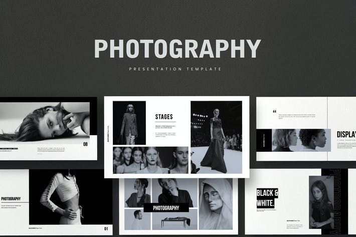 Cover Image For Photography - Business Marketing Google Slides