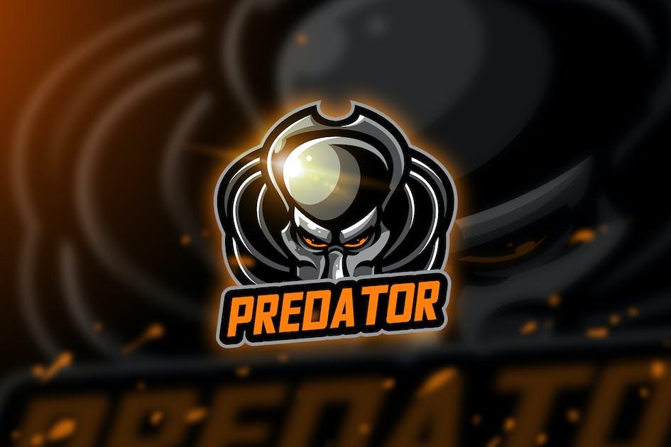 Download Predator thr - Mascot & Esport Logo by aqrstudio
