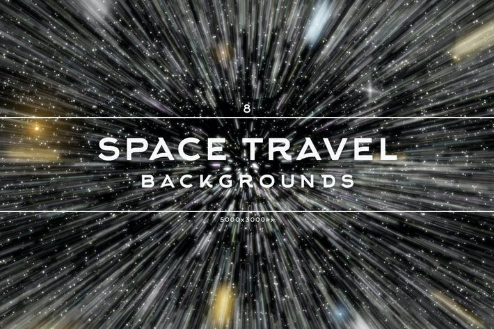 Thumbnail for Space Travel Backgrounds