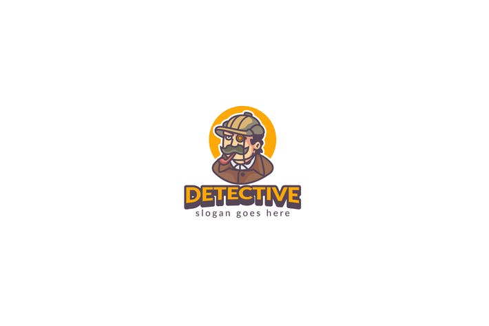 Thumbnail for Detective Logo Template