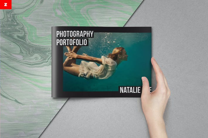 Thumbnail for Simple Portfolio Brochure