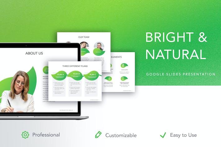 Thumbnail for Helle & natürliche Google Slides Vorlage