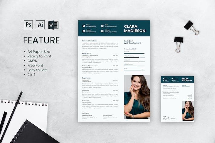 Cover Image For CV Resume