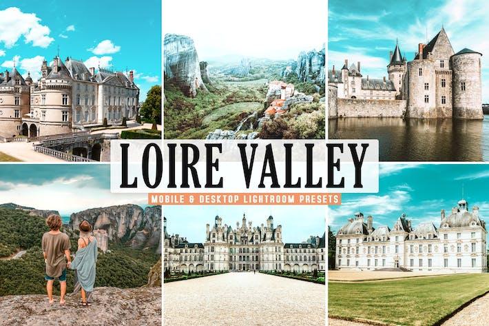 Thumbnail for Loire Valley Mobile & Desktop Lightroom Presets