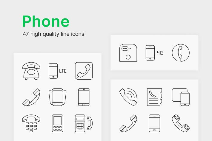 Cover Image For Phone Icons