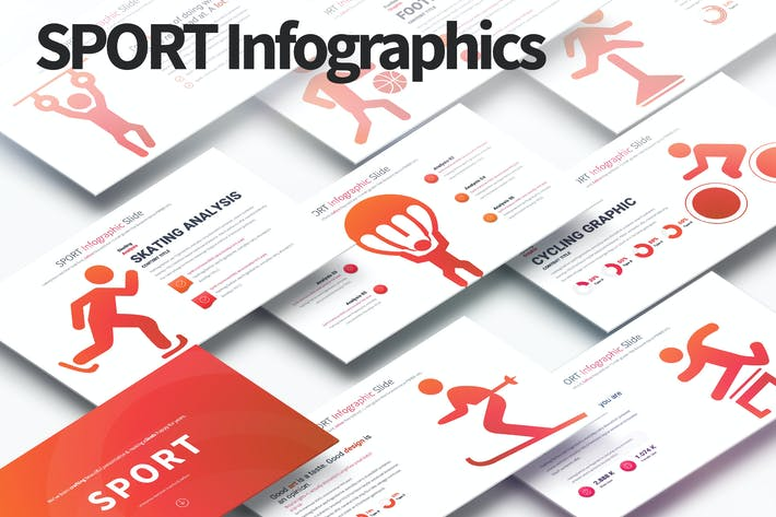 Thumbnail for SPORT - PowerPoint Infographics Slides