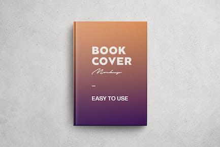 Glossy Book Cover Mockup