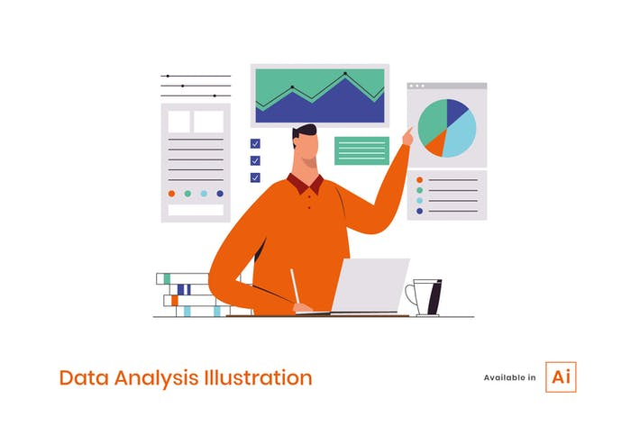 Thumbnail for Illustration zur Datenanalyse