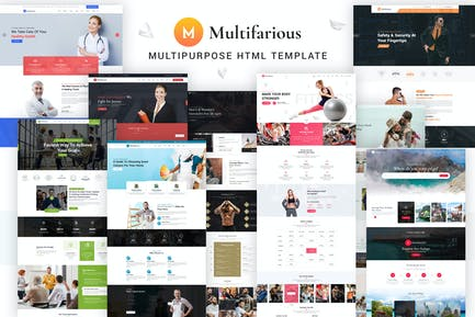 Multifarious - Multi-Concept Services Responsive