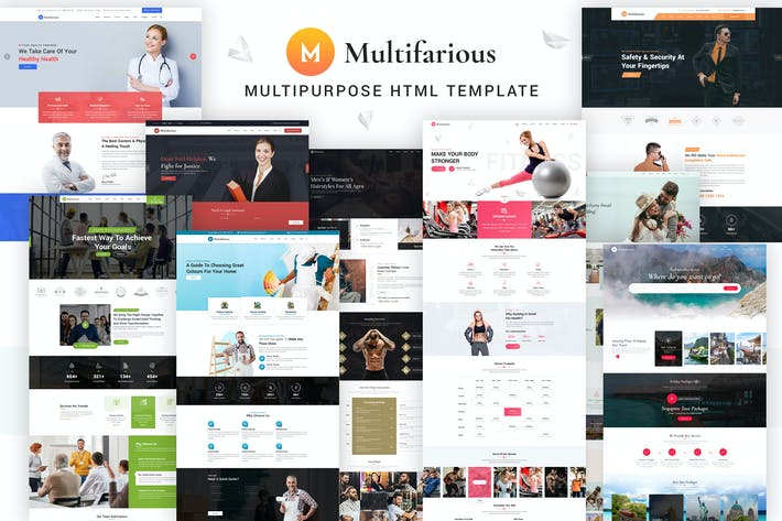 Thumbnail for Multifarious - Multi-Concept Services Responsive