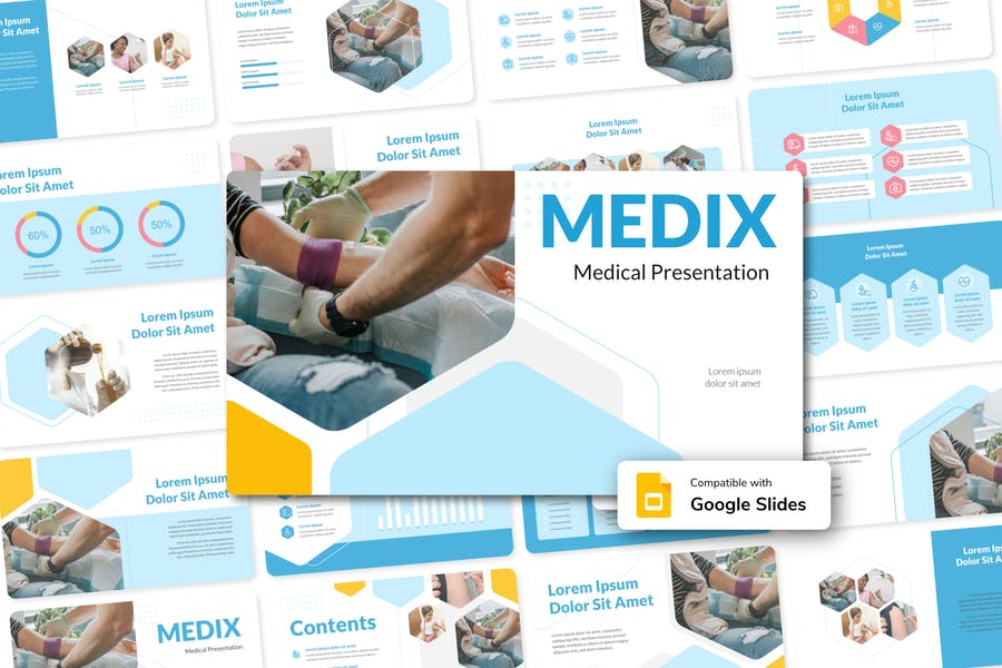 MEDIX - Medical Google Slides Template