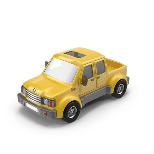 Thumbnail for Cartoon Pickup Truck