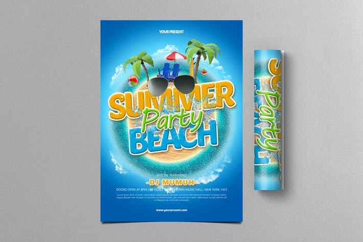 Thumbnail for Summer Beach Party