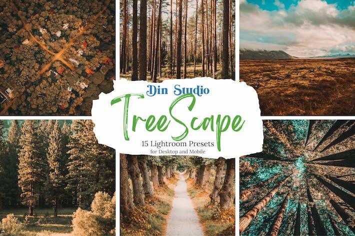 Thumbnail for Пресеты Tree Scape Lightroom