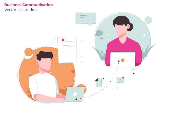 Thumbnail for Business Communication - Vector Illustration
