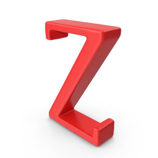 Thumbnail for Red Capital Letter Z