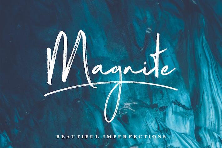 Thumbnail for Magnite Brush Script Font