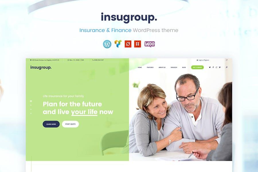 Insugroup | A Clean Insurance & Finance WP Theme