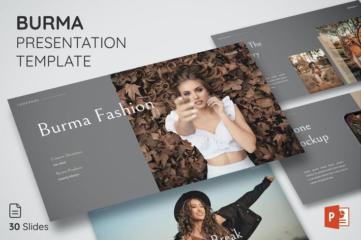 Thumbnail for Burma - Presentation Template