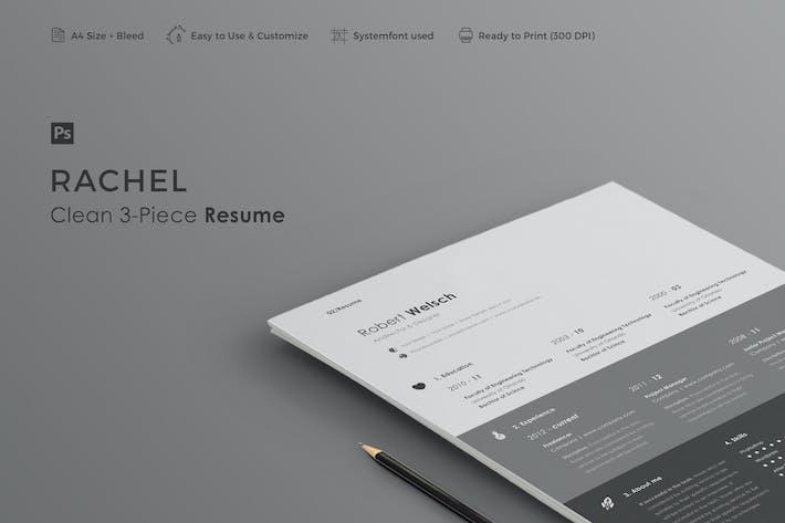 Thumbnail for Резюме | Рейчел