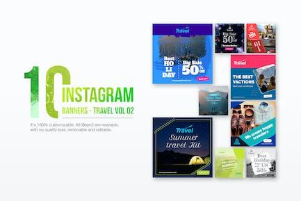 10 Instagram Post Banner-Travel 02