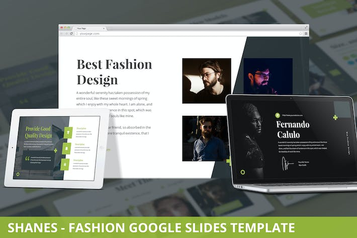 Thumbnail for Shanes - Fashion Google Slides Template