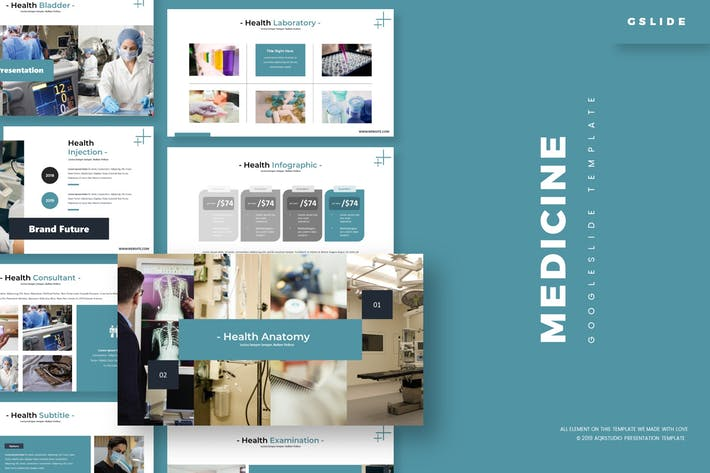 Thumbnail for Medicine - Google Slides Template