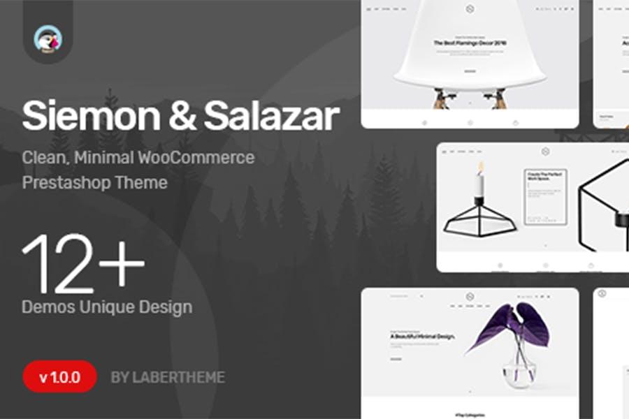 Themes Siemon & Salazar Responsive Prestashop 1.7