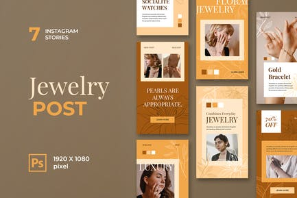 Jewelry Instagram Stories