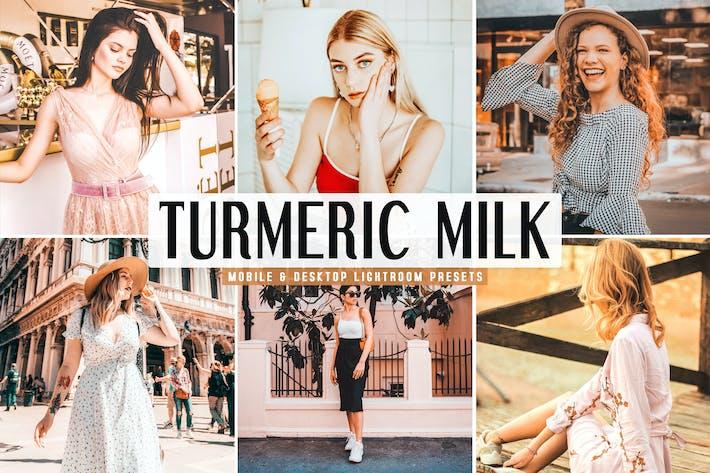 Thumbnail for Turmeric Milk Mobile & Desktop Lightroom Presets