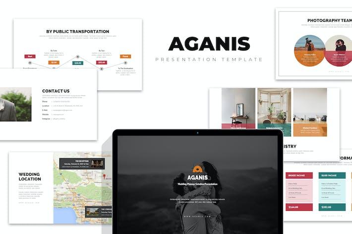 Thumbnail for Aganis : Wedding Planner & Organizer Keynote