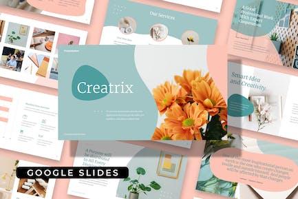 CREATRIX - Clean Creative Google Slide Template