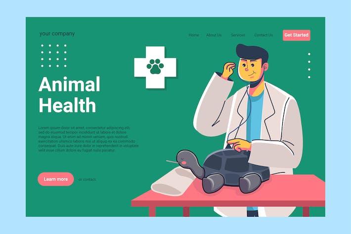 Veterinary - Landing Page