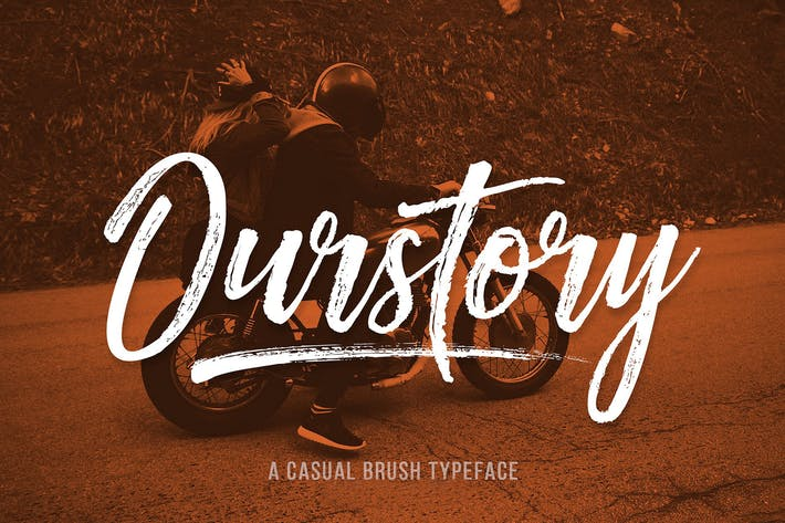 Thumbnail for Ourstory Font Duo