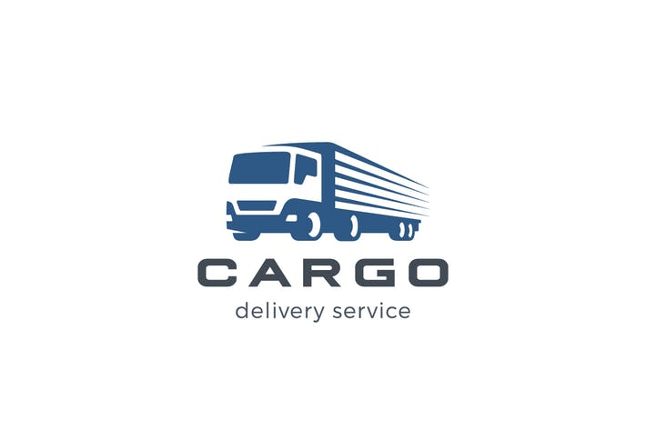 Thumbnail for Logo Truck Delivery Cargo Transportation