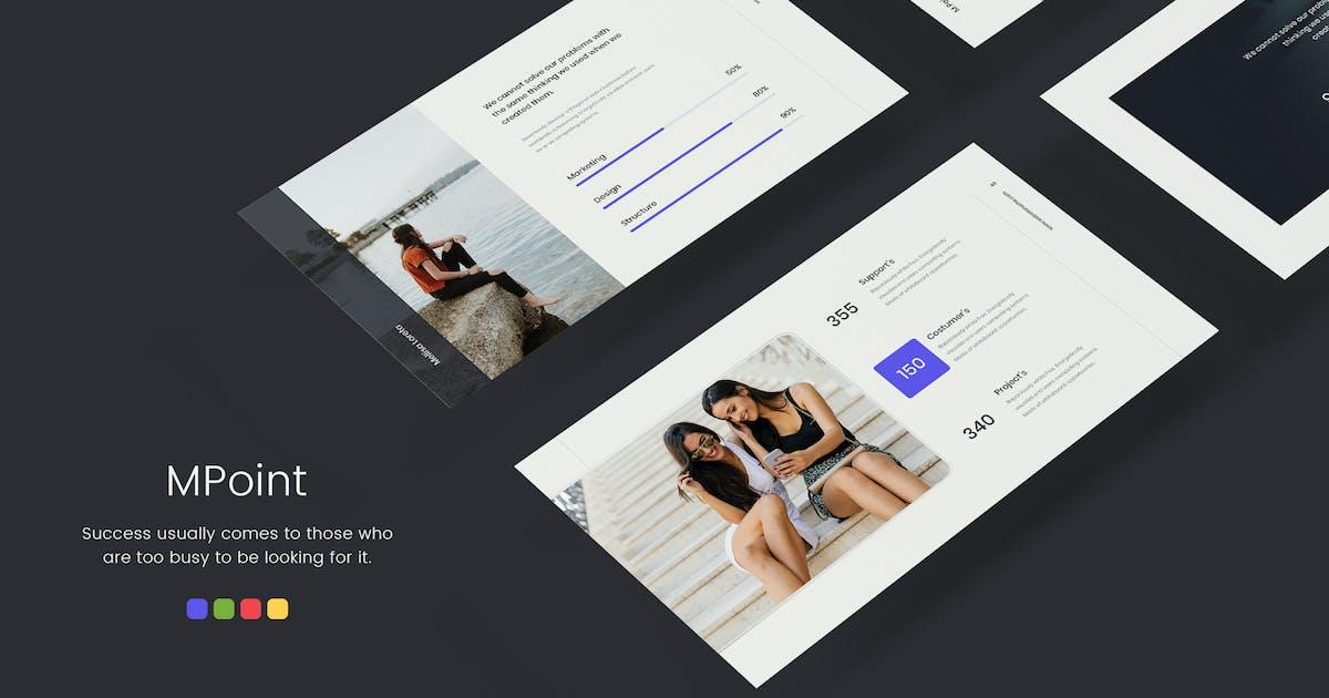 MPoint - Минимальный и бизнес-Шаблон (KEY) от SimpleSmart on Envato Elements