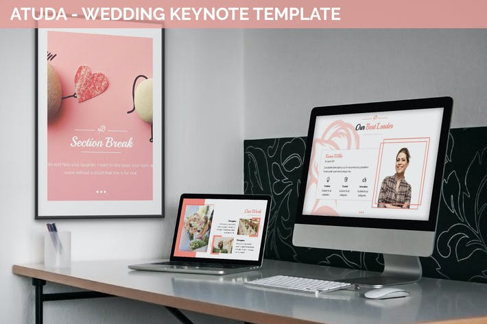 Cover Image For Atuda - Wedding Keynote Template