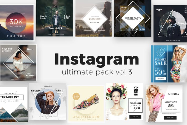 Thumbnail for Instagram Ultimate Pack V2