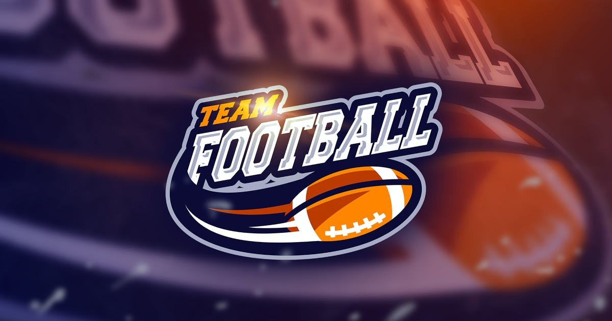 Football - Mascot & Esport Logo by aqrstudio