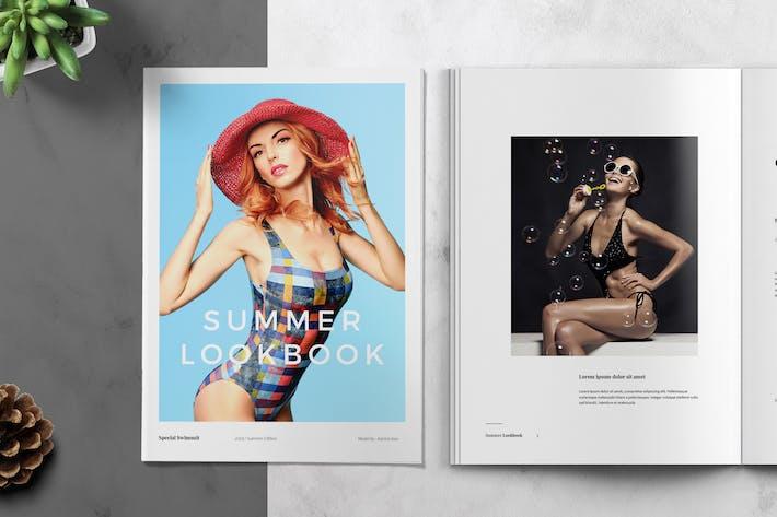 Thumbnail for Summer Lookbook / Catalog Template