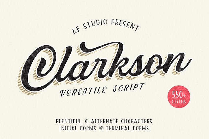 Cover Image For Clarkson Script